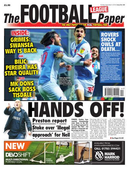 The Football League Paper November 03, 2019 00:00