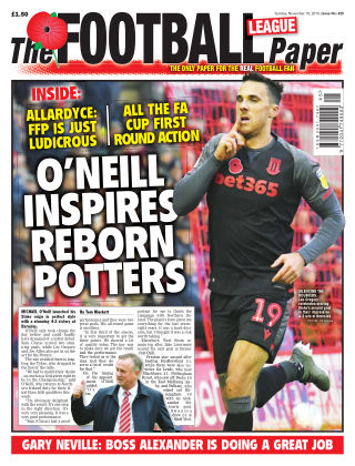 The Football League Paper 10th November 2019