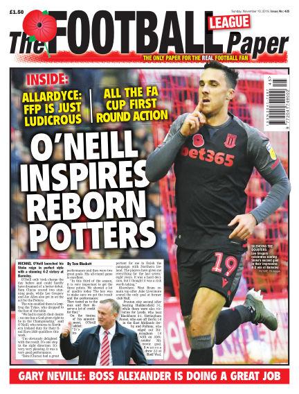 The Football League Paper November 10, 2019 00:00