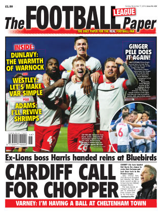 The Football League Paper 17th November 2019