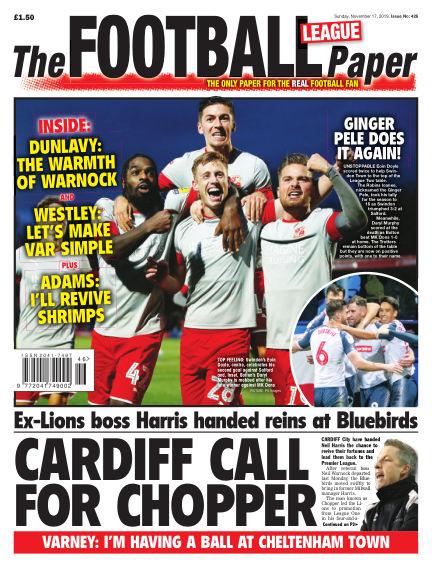 The Football League Paper November 17, 2019 00:00