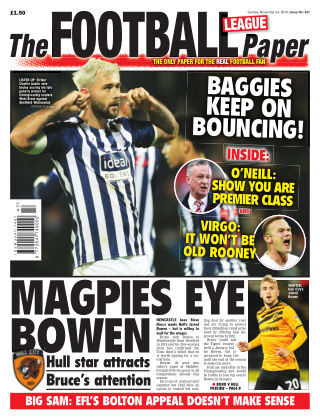 The Football League Paper 24th November 2019