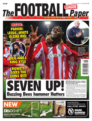 The Football League Paper 1st December 2019