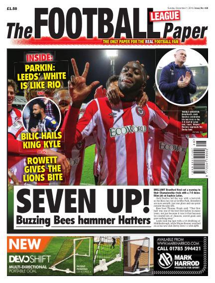 The Football League Paper December 01, 2019 00:00