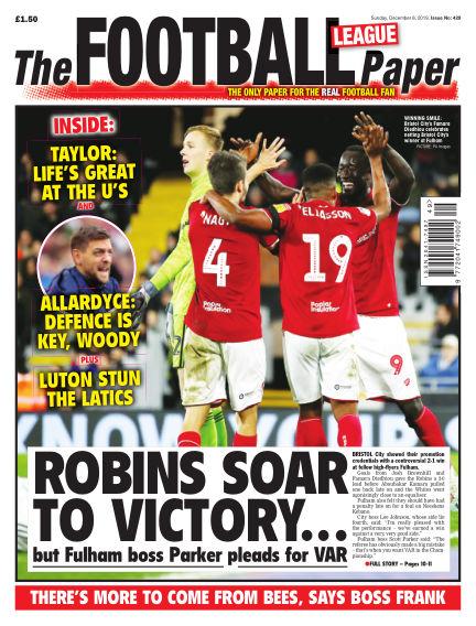 The Football League Paper December 08, 2019 00:00