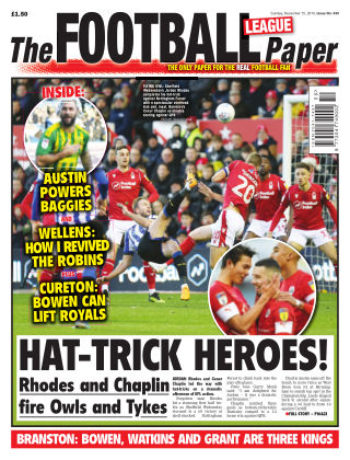 The Football League Paper 15th December 2019
