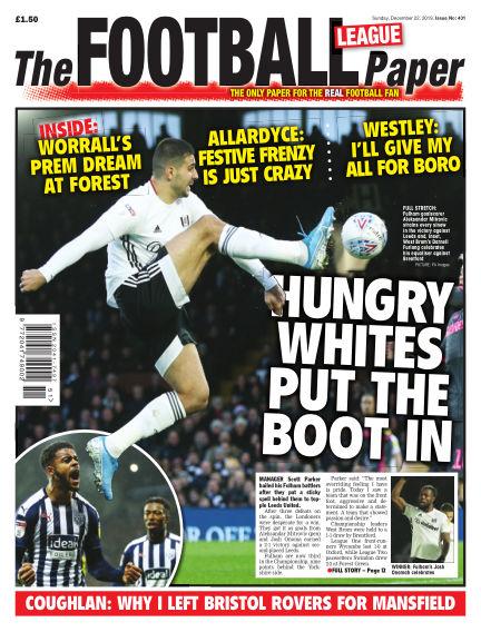 The Football League Paper December 22, 2019 00:00
