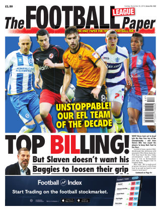 The Football League Paper 29th December 2019