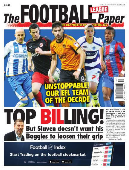 The Football League Paper December 29, 2019 00:00