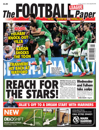 The Football League Paper 5th January 2020