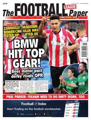 The Football League Paper 12th January 2020