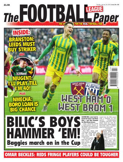 The Football League Paper January 26, 2020 00:00