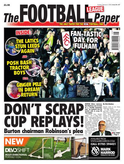 The Football League Paper February 02, 2020 00:00