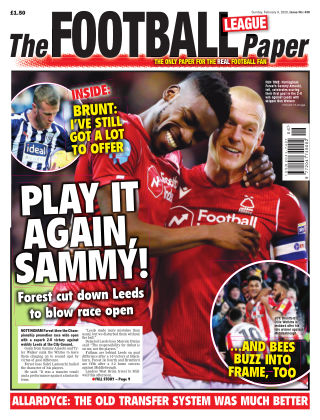 The Football League Paper 9th Febuary 2020