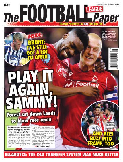 The Football League Paper February 09, 2020 00:00
