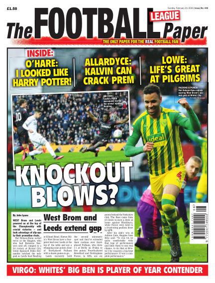 The Football League Paper February 23, 2020 00:00