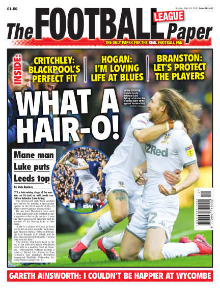 The Football League Paper March 08, 2020 00:00