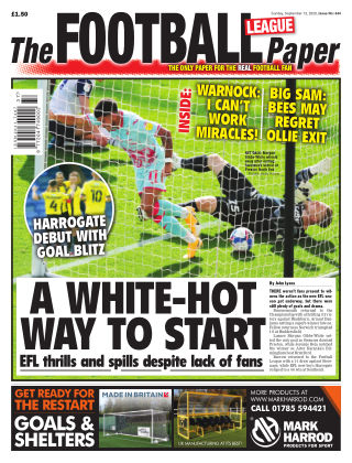 The Football League Paper 13th September 2020