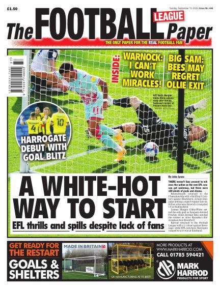 The Football League Paper September 13, 2020 00:00