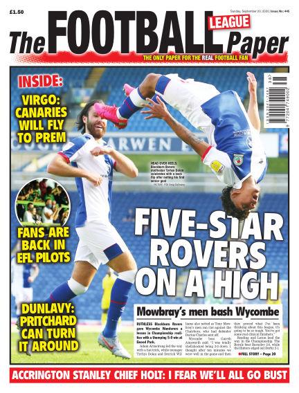 The Football League Paper September 20, 2020 00:00