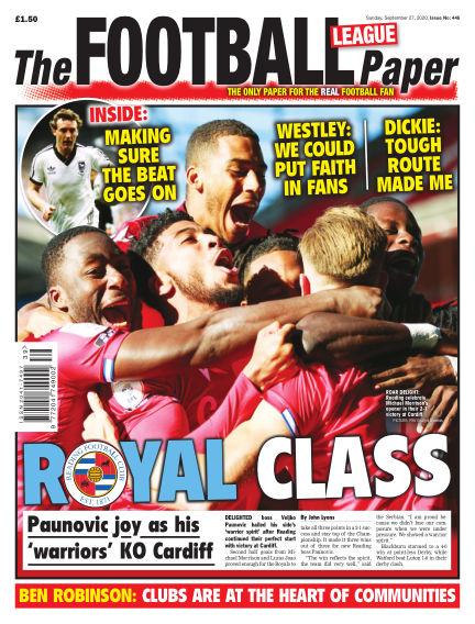The Football League Paper September 27, 2020 00:00
