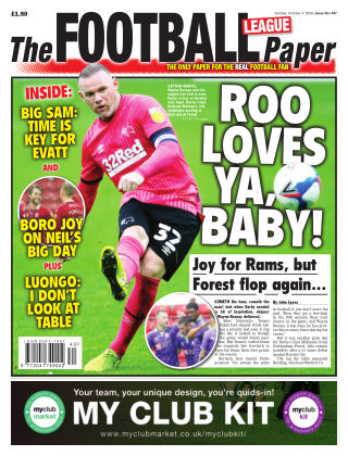 The Football League Paper 4th October 2020