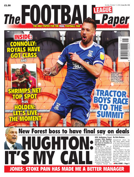 The Football League Paper October 11, 2020 00:00