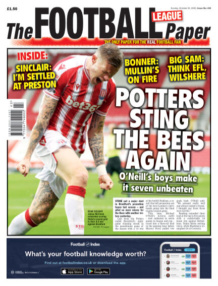 The Football League Paper October 25, 2020 00:00