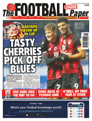 The Football League Paper 8th November 2020