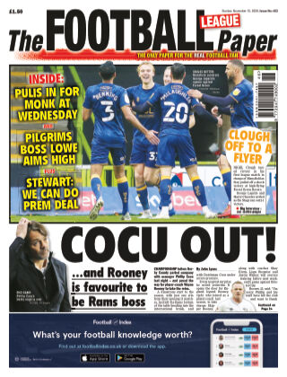 The Football League Paper 15th November 2020