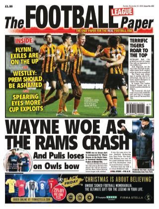 The Football League Paper 22nd November 2020