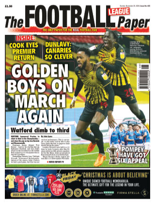 The Football League Paper 29th November 2020