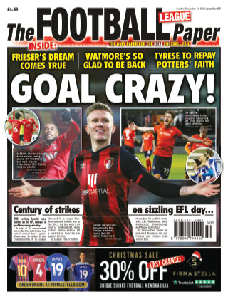 The Football League Paper 13th December 2020