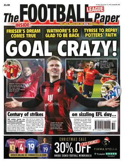 The Football League Paper December 13, 2020 00:00