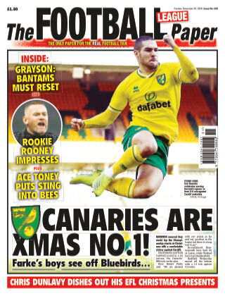 The Football League Paper 20th December 2020
