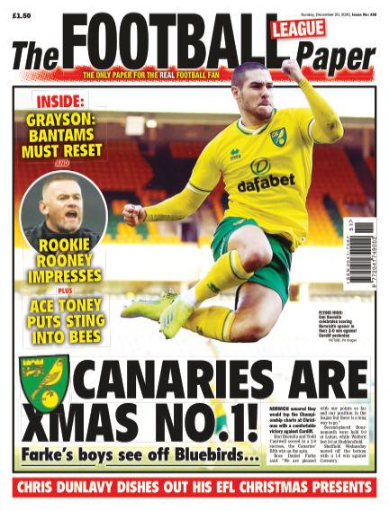 The Football League Paper December 20, 2020 00:00