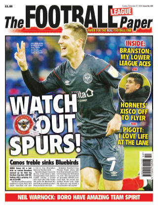 The Football League Paper 27th December 2020