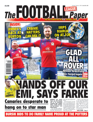 The Football League Paper 3rd January 2020