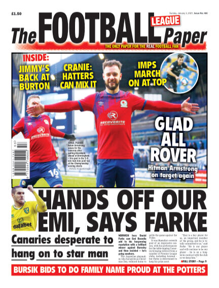 The Football League Paper January 03, 2021 00:00