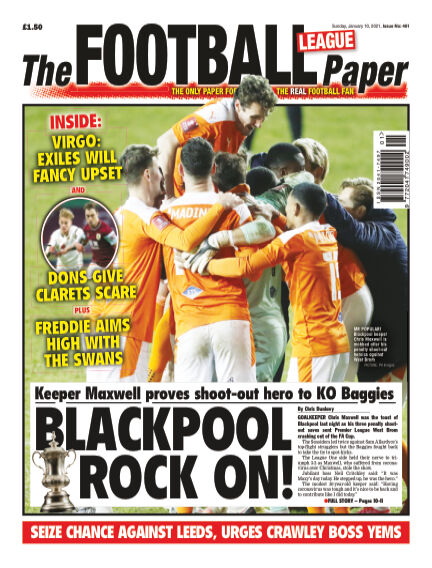 The Football League Paper January 10, 2021 00:00
