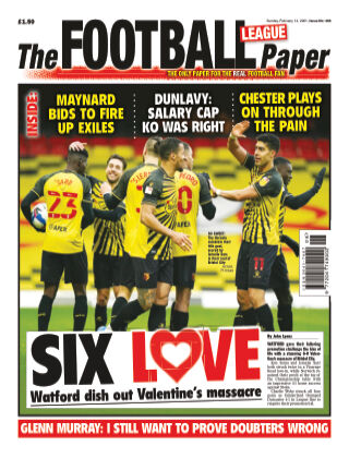 The Football League Paper 14th February 2021