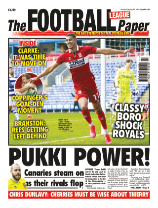 The Football League Paper 21st February 2021