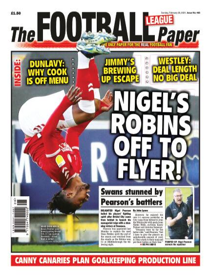 The Football League Paper February 28, 2021 00:00