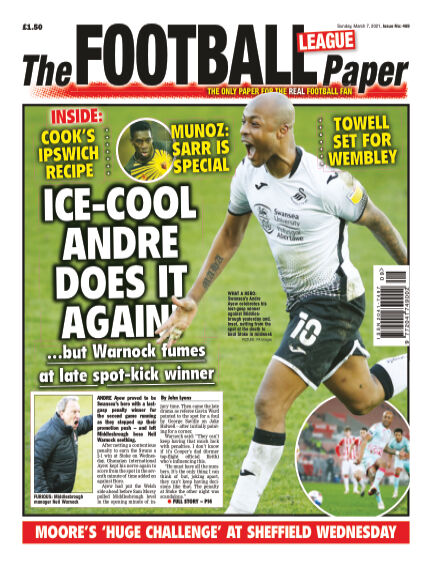 The Football League Paper March 07, 2021 00:00