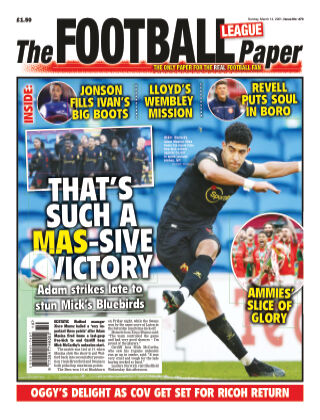 The Football League Paper 14th March 2021