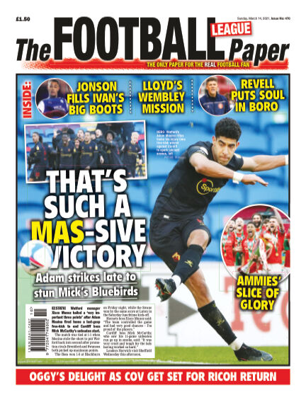 The Football League Paper March 14, 2021 00:00