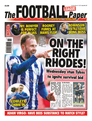 The Football League Paper 21st March 2021