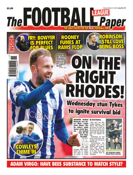 The Football League Paper March 21, 2021 00:00