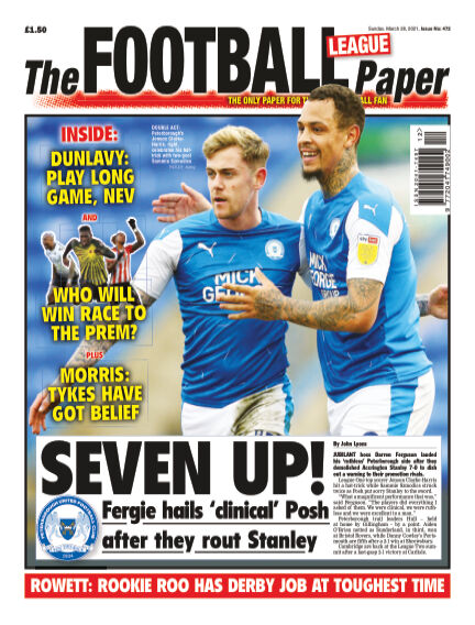 The Football League Paper March 28, 2021 00:00
