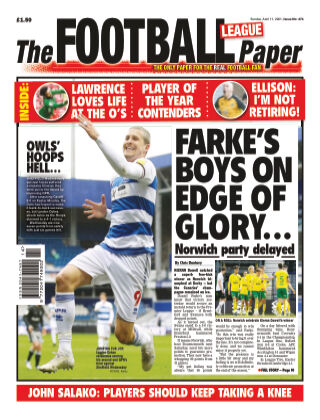 The Football League Paper 11th April 2021